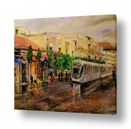 כלי רכב רכבות | הרכבת הקלה בירושלים (3)