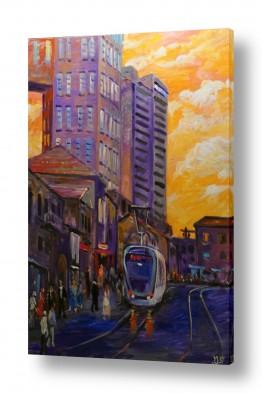 כלי רכב רכבות | הרכבת הקלה בירושלים (4)
