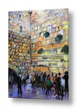 ירושלים הכותל המערבי | תפילה בכותל