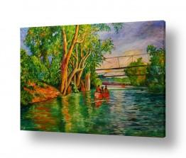 ציורים אנשים ודמויות | נהר הירדן