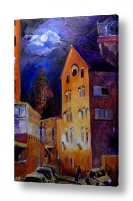 אסטרונומיה ירח | ליל ירח מלא בירושלים