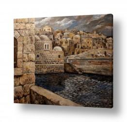 ציורים עירוני וכפרי | חברון במאה ה-19
