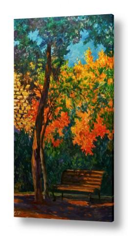 ציורים נופים וטבע | סתיו