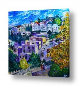 עץ שלכת | סתיו בירושלים