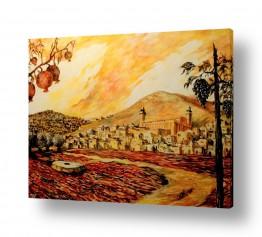 ציורים עירוני וכפרי | חברון הישנה