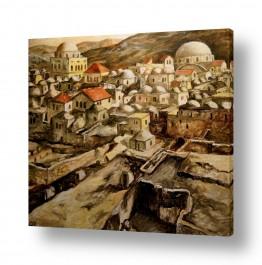ציורים יהדות | ירושלים בסוף המאה ה-19
