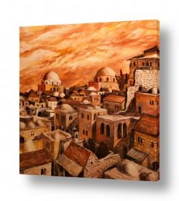 תמונות לפי נושאים תפילה | ירושלים בראשית המאה ה-20