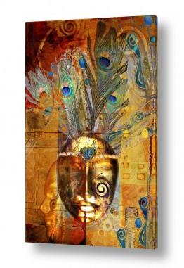תמונות לפי נושאים טווסים | The golden mask