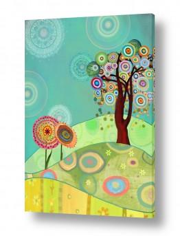 אמנים מפורסמים ציורים שנמכרו | Circle tree