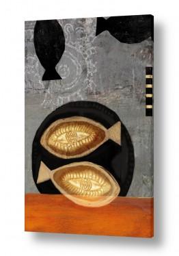 תמונות לפי נושאים שפע | שני דגי זהב