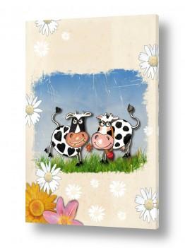 פרות מאוהבות