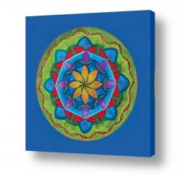 ציורים נעמי מור | רפסודיה בכחול