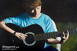הנער והגיטרה