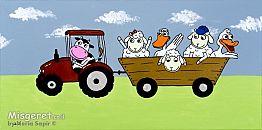חיות בחווה