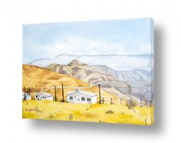 תמונות לחדרי המתנה | נוף בבקעת הירדן