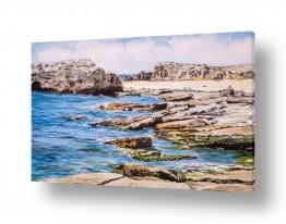 ציורים מים | חוף הבונים