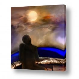 תמונות לחדרי כניסה | סונטה ליל ירח