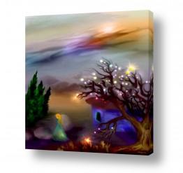 ציורים חדרי ילדים | עץ הכוכבים