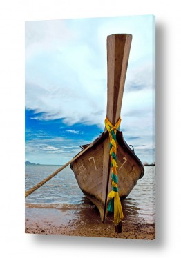 אסיה תאילנד | סירה בחוף