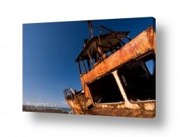 כלי שייט אוניה | חלודה