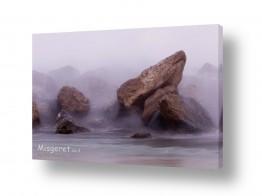 צילומים ניר אלון | סלעים בערפל מימי