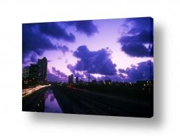 צילומים ניר אלון | שמיים מעל תל אביב