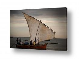 עולם אפריקה | באותה הסירה