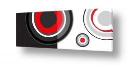 סגנונות אבסטרקט | עיגולי רטרו
