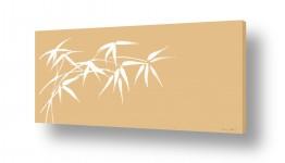 צמחים עץ | ענף במבוק בהיר
