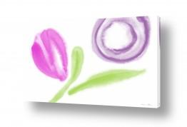 ציורים אמנות דיגיטלית | ענף ירוק
