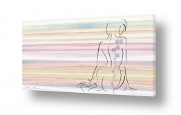 ציורים ציור בצבעי מים | קעקוע
