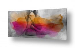 תמונות לפי נושאים פיגורטיבי | אשה בצבע