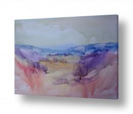 ציורים ציור בצבעי מים | עמק