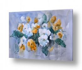 ציורים אורן יבנין | פרחים