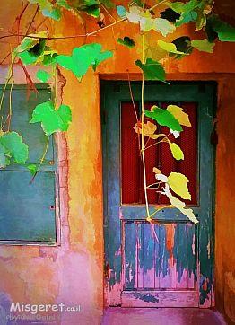 על מפתן הדלת