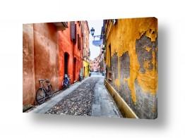 ציורים עירוני וכפרי | הפסקת צהרים