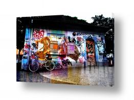 כלי רכב אופניים | גרפיטי