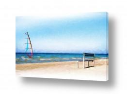 מים נוף ים | שקוף