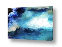 ציורים מים | זרימת הזמן