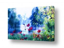 ציורים אורית גפני | בגובה הפרחים