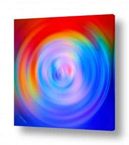 ציורים אבסטרקט | סופת אור