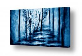 נוף תמונה פנורמית | בלב היער