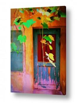 ציורים טבע דומם | על מפתן הדלת