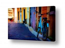 נוף עירוני סמטאות | סמטה ציורית