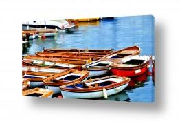 תמונות לפי נושאים משוטים | נמל נאפולי