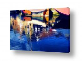 מיים אגמים | סירות מציירות