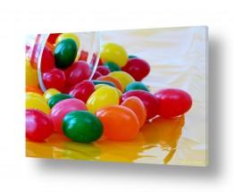 צילומים אוכל | סוכריות צבעוניות 1
