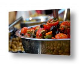 תמונות לפי נושאים השתקפות | עגבניות וזיתים