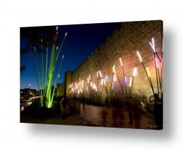 תמונות לפי נושאים העיר העתיקה | פסטיבל האור 4