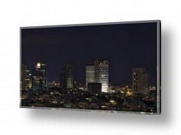 ערים בישראל תל אביב | תל אביב בלילה 3